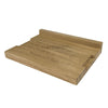 Large Lipped Chopping Board - The Engraved Oak Company