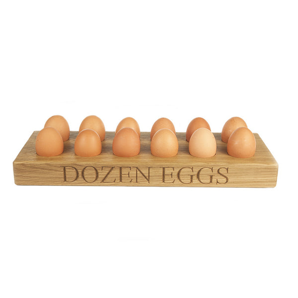 Dozen Egg Tray - The Engraved Oak Company