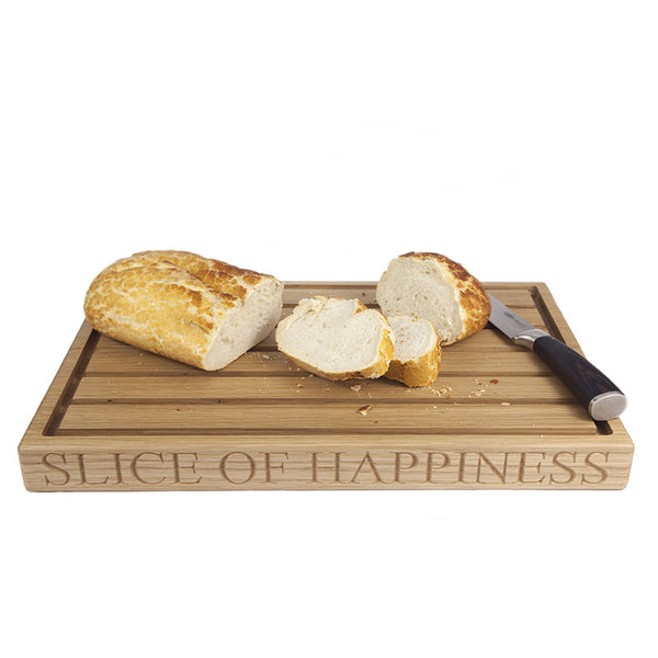 Large Bread Board - The Engraved Oak Company