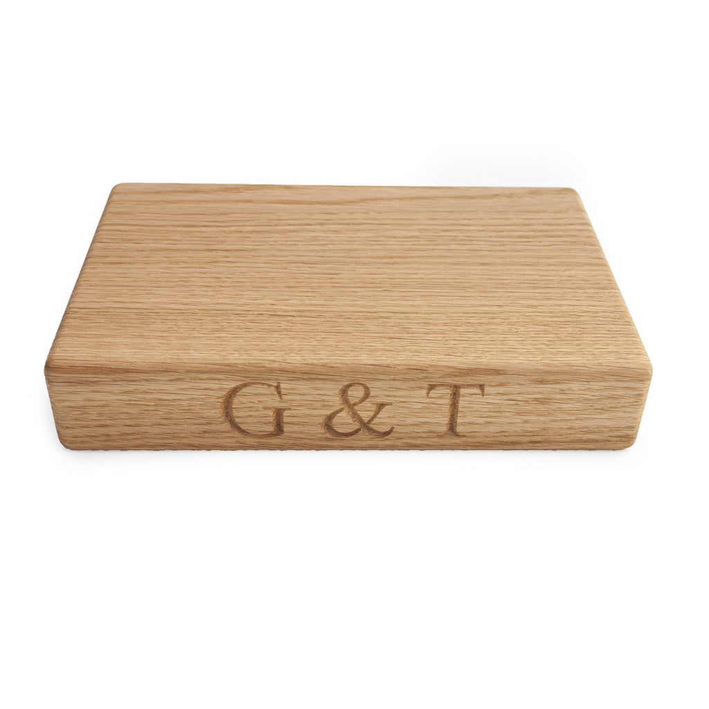 Gin & Tonic Chopping Board - The Engraved Oak Company