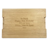 X-Large Personalised Chopping Board - The Engraved Oak Company