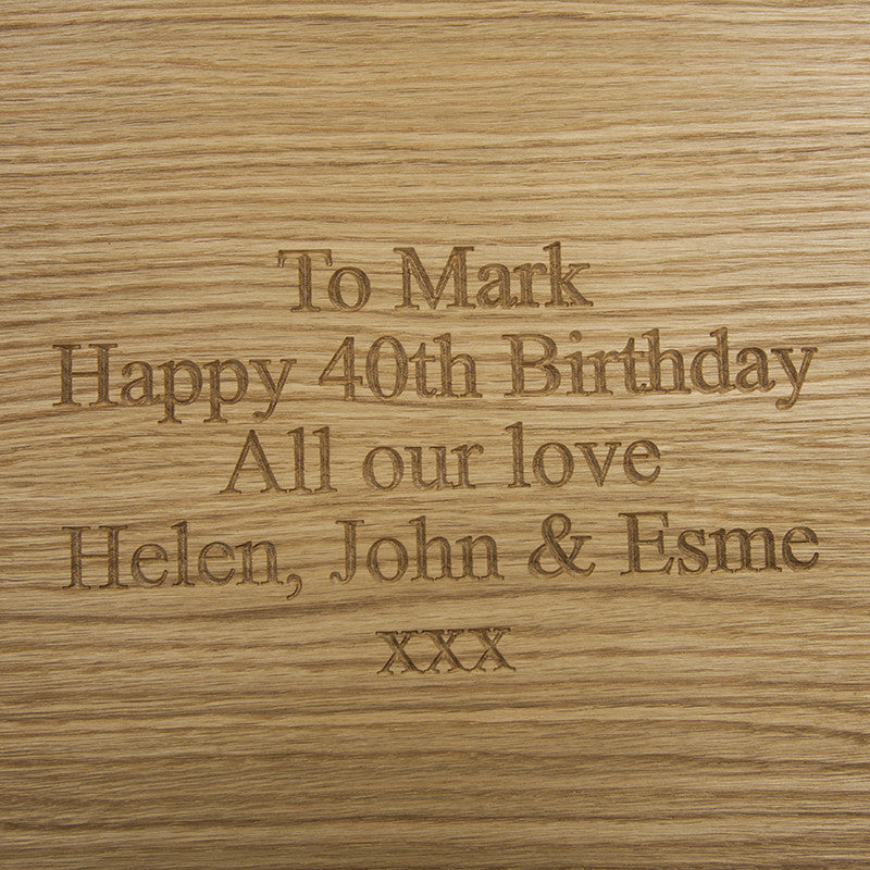 Small Chopping Board - The Engraved Oak Company