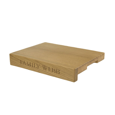 Large Lipped Chopping Board