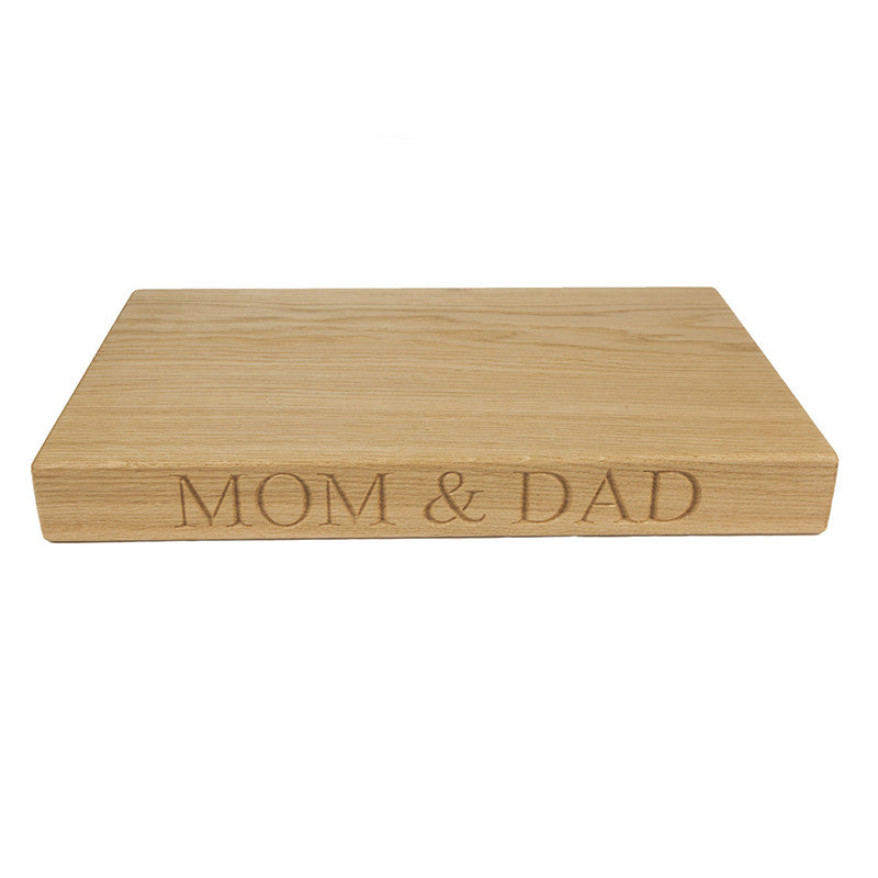Medium Chopping Board - The Engraved Oak Company