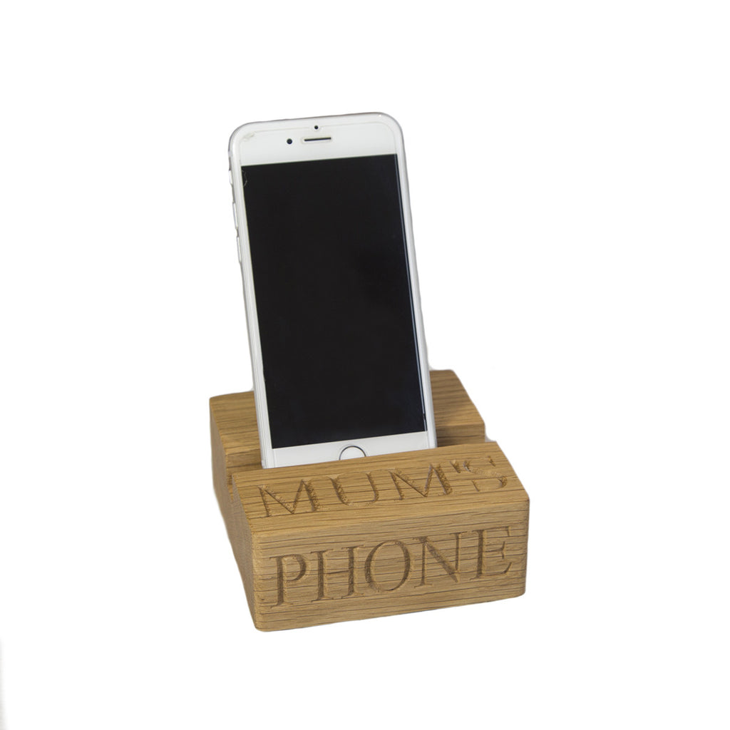 Phone Stand - The Engraved Oak Company