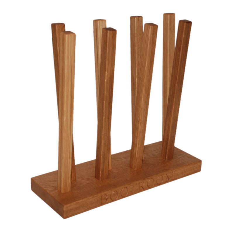 Welly Boot Stand - The Engraved Oak Company