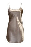 "17"" Emily Essentials  Satin Anti-Cling Bias Cut Chemise/Slip"