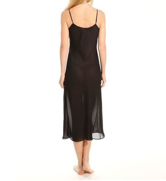 "STYLE# 47230  Sheer Double Georgette 30"" Bias Cut Full Slip"