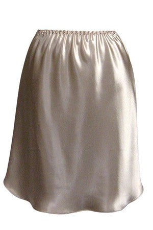 "#152-21    21"" Emily Essentials  Satin Anti-Cling Half Slip"