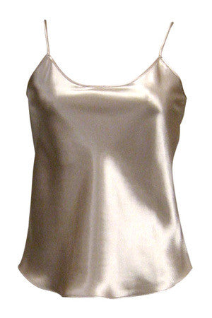 FARR WEST  ESSENTIALS SATIN ANTI-CLING CAMISOLE
