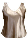 Plus Curves Reversible V-Neck Camisole  STYLE #323