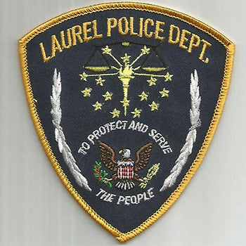 Laurel Police Department Vest a Cop Benefit