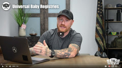 Adding Tactical Baby Gear to a baby registry