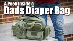 A Peek Inside a Dad's Diaper Bag