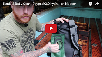 How to use hydration bladder with TBG's Daypack 3.0 | Tactical Diaper Bag Backpacks™