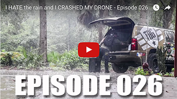 The Weekly Dump | I HATE the rain and I CRASHED MY DRONE - Ep. 026