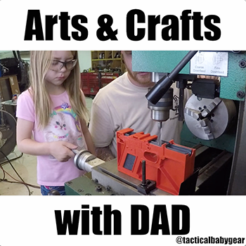 Arts & Crafts with Dad | Shepard Tactical and Polymer 80
