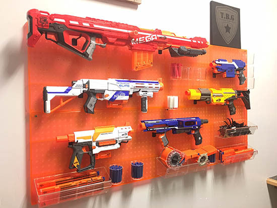 How to build a Tactical Nerf Gun Wall