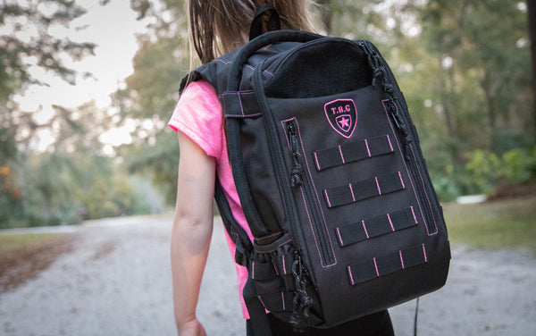 Tactical Baby Gear Daypack Mini Pink