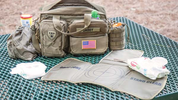 TBG Deuce 2.0 Tactical Diaper Bag Combo Set Lifestyle 1