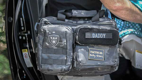 TBG Deuce 2.0 Tactical Diaper Bag Lifestyle 1