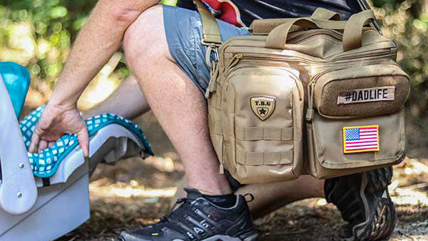 TBG Deuce 2.0 Tactical Diaper Bag Lifestyle 2