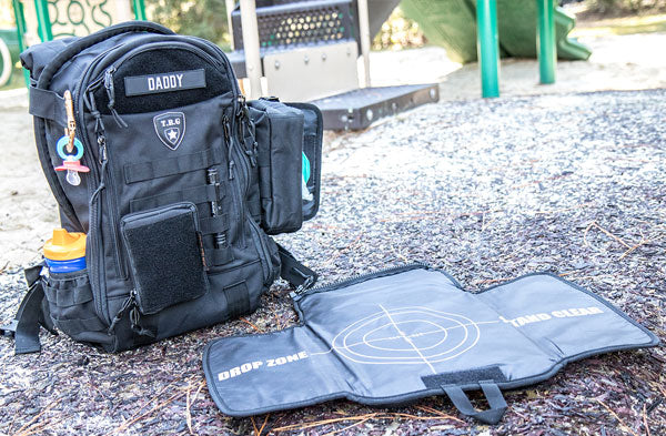 Tactical Baby Gear Tactical Diaper Bag Backpack Full Load Out Lifestyle 1