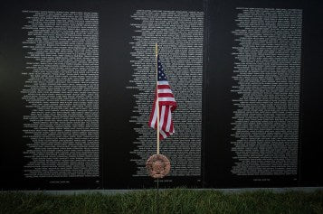 vietnam wall memorial day