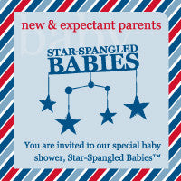 Star Star Spangled Baby Shower