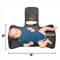 military style tactical Baby changing pad and dad bag