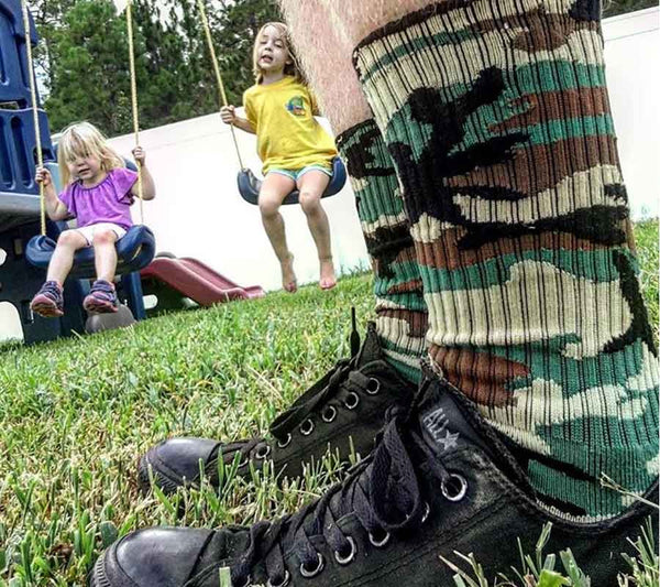 TBG Dad Life Socks by Fuel Clothing - Tactical Baby Gear - 5