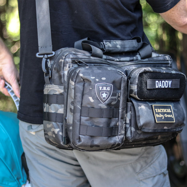 Deuce 2.0 Tactical Diaper Bag™ + Changing Mat