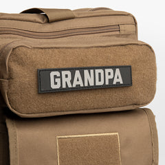 GRANDPA OR GRANDMA Name Tape Patch