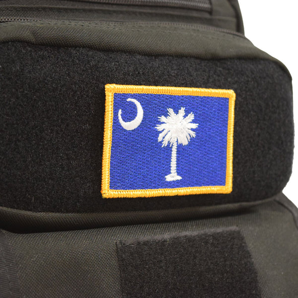 South Carolina Flag Velcro Patch - Tactical Baby Gear - 1