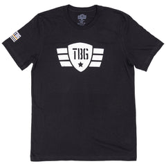 Men's TBG Wings Logo - Black