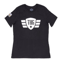 Women's TBG Wings Logo - Black
