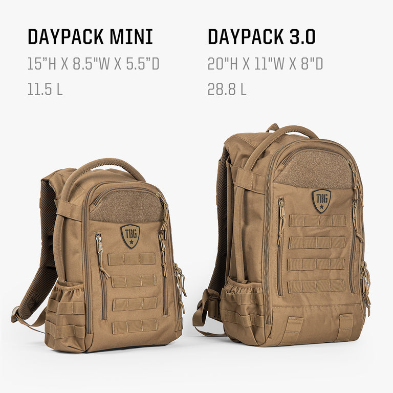 Daypack Mini (Woodlands Camo)