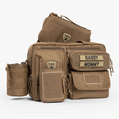 Deuce 2.0 Tactical Diaper Bag® Combo Set