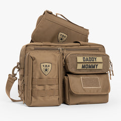 Deuce 2.0 Tactical Diaper Bag® + Changing Mat