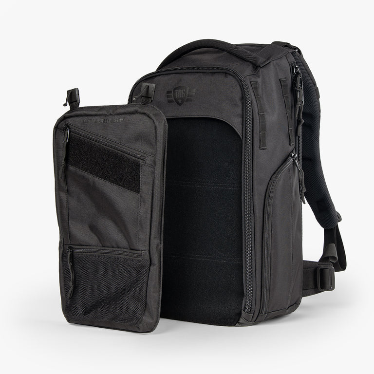 MOD Backpack + Low Pro Panel Kit (Woodlands Camo)