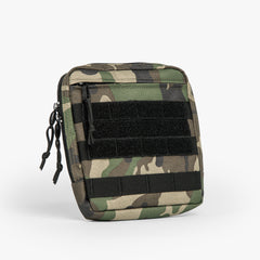 Tactical Utility Pouch (Woodlands Camo)