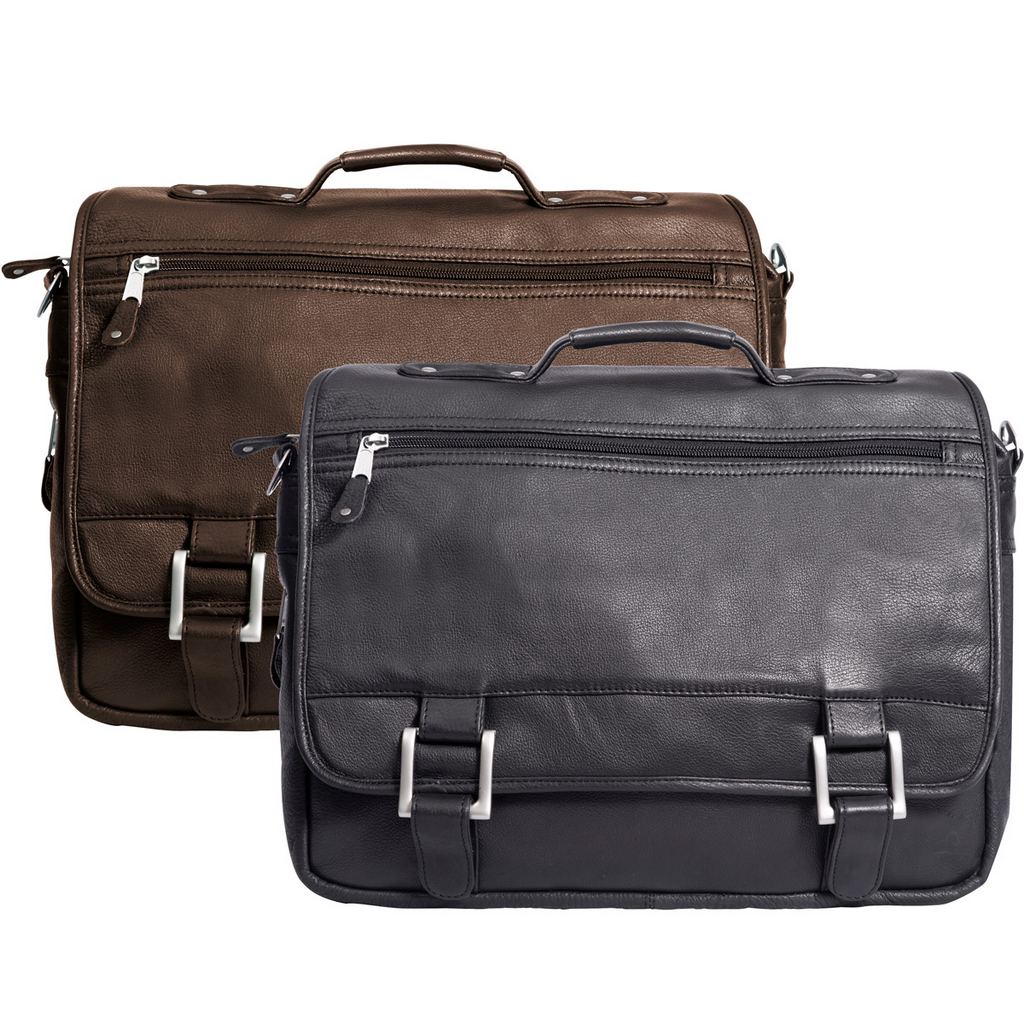 25a250ba94bb Canyon Outback Canyon Classic Copper Canyon Leather Expandable Computer  Briefcase