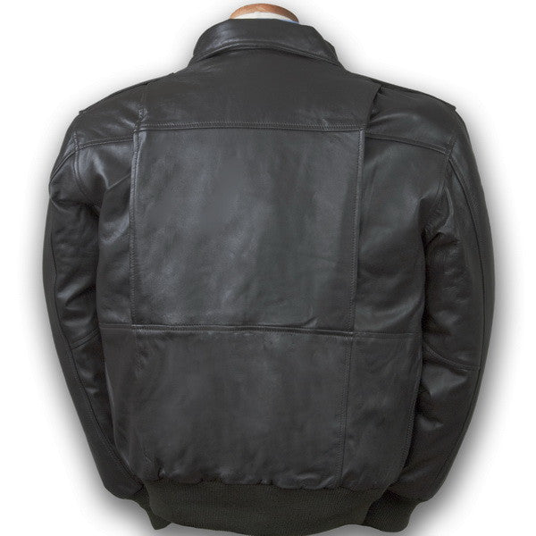 af66c70d55f Burk s Bay Lambskin Bomber Brown Small - LeatherBagsAndBeyond
