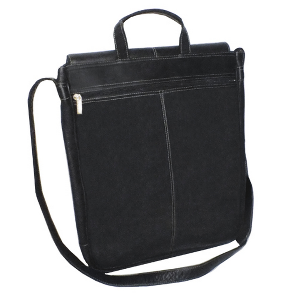 a1b5c80a611 Royce Leather Columbian Vaquetta Leather 17 Inch Vertical Laptop Messenger  Bag
