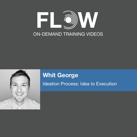Flow Conference On-Demand - Whit George