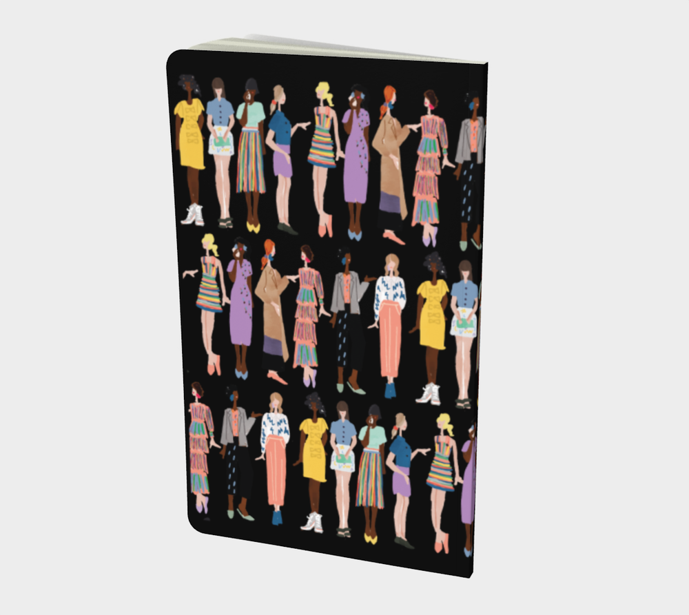 Fashion Sketch Printed Notebook