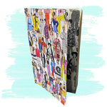 Watercolor Fashion Sketch Printed Notebook