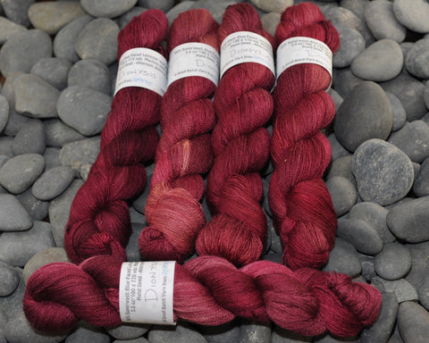 Dionysus on BFL Silk Lace - 100g