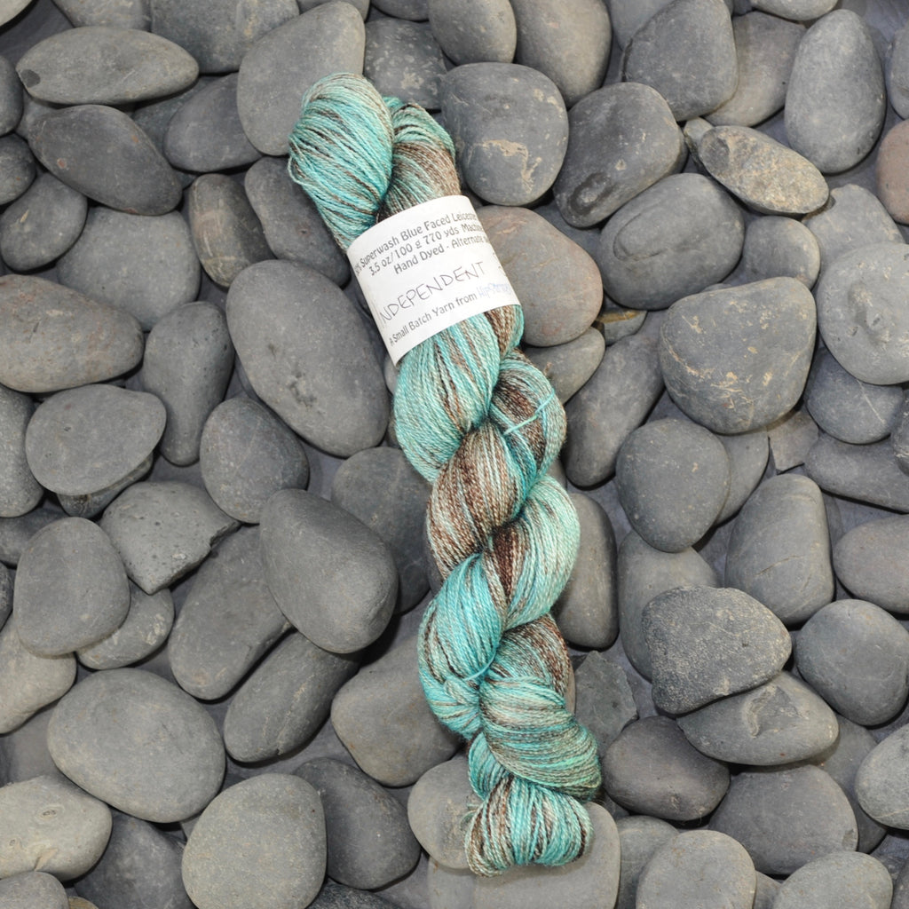 Independent Study on BFL Silk Lace - 100g