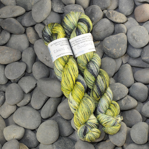 Raven and Sunshine on BFL Silk Lace - 100g